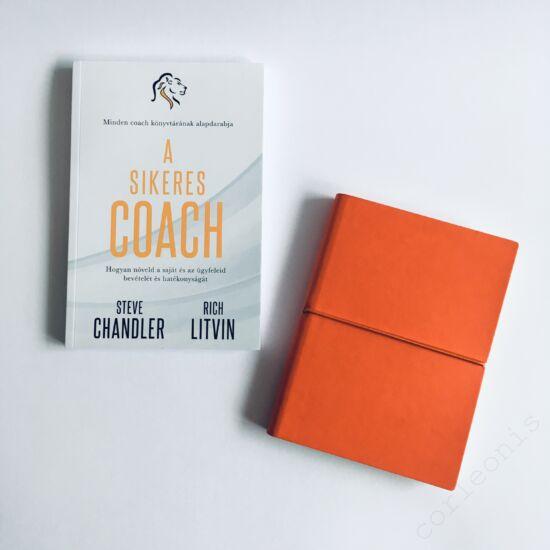 Sikeres coach színes lapos notesszel